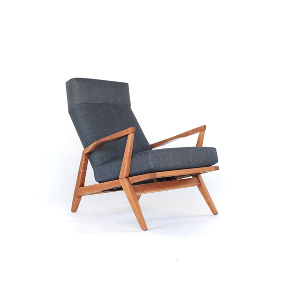 Fantastic Mid Century Modern Sculptural Lounge Chair High Back Mid Century Armchair Retro Furniture Vintage Chair Mad Men Z Chair Inzonedesignstudio Interior Chair Design Inzonedesignstudiocom