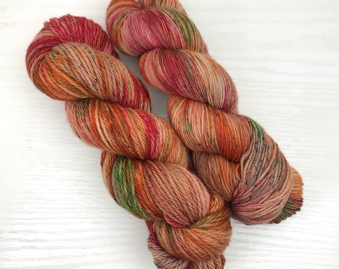 Fall is Coming - Hand Dyed Merino Yarn - Ready to Ship Flash Batch