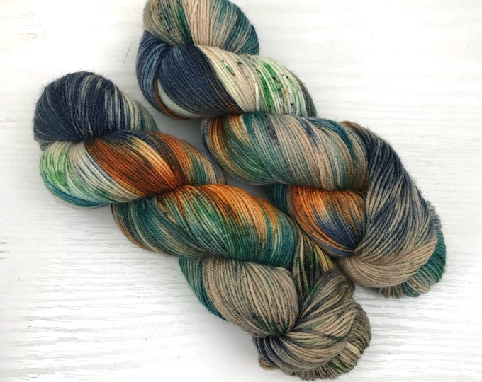 Snake River - Hand Dyed Sock Yarn - Ready to Ship