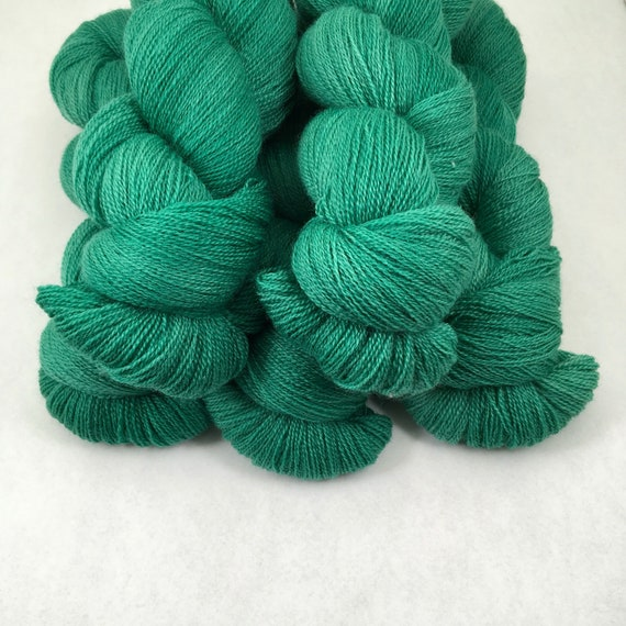 Emerald - Lace Weight 100% British Bluefaced Leicester - 875 yards
