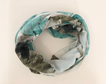 Infinity Nursing Scarf - Paint Drop