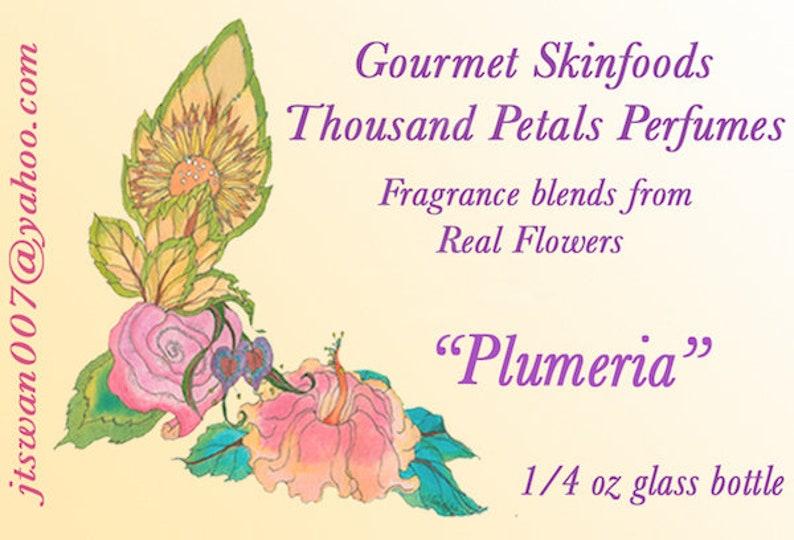 Plumeria  Thousand Petals Perfumes image 0