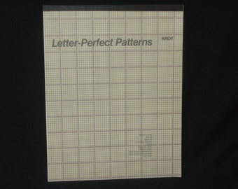 Kroy Letter-Perfect Patterns Tablet, Pre-PowerPoint, Old School Templates