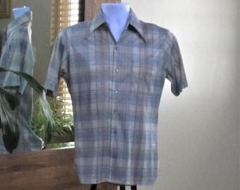 Vintage Joel California 80/'s Disco Style Shirt Size Medium G9
