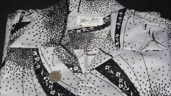 1980s greytan wool plaid shift by MEI CHAI