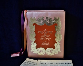 1965 A Treasury of Great Recipes, 1st / First Edition / 1st / First Printing, by Mary and Vincent Price