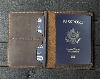 67359636da3 Leather Passport Wallet