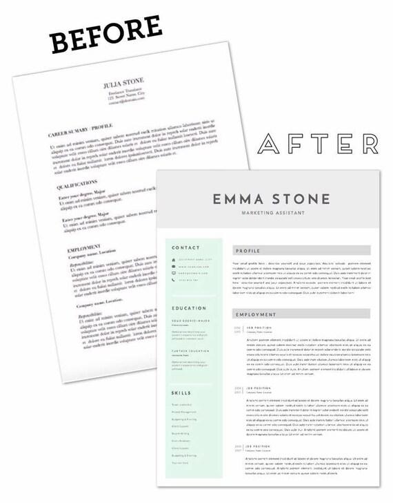Resume template. CV template.Simple elegant resume. Minimal resume  template. A4 resume. DIY resume. Teacher resume. Marketing resume