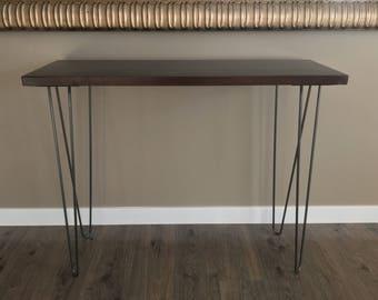 Hairpin Metal Table Legs  DIY Furniture  All sizes, Custom steel furniture legs, metal table legs, mid century modern, Hairpins