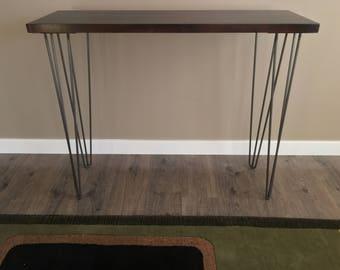 Hairpin table legs, USA Made, RAW STEEL, Hairpin legs, Hairpin Table Legs, Mid Century Modern, Coffee Table, metal Furniture, Metal Legs