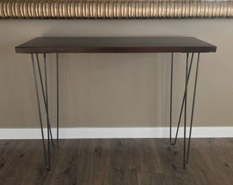 Hairpin table legs  24''-29'' DIY Furniture All sizes, Custom steel furniture legs, metal table legs, mid century modern, Hairpins