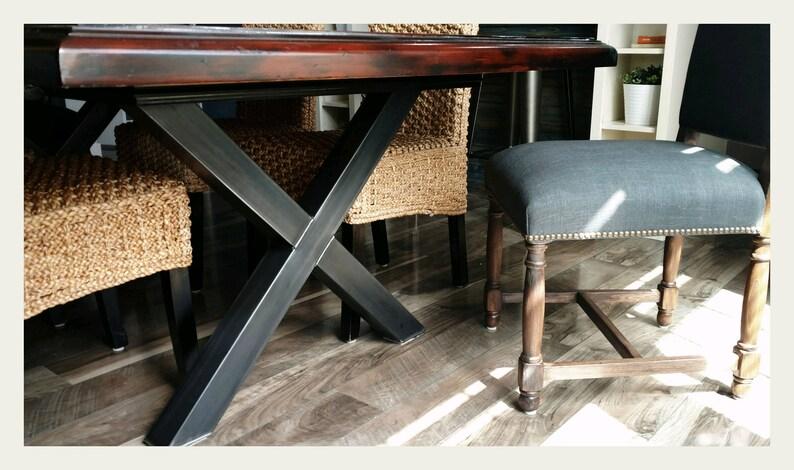 Steel Table Legs, Modern Decor,mid Century Modern,steel Legs,metal Table  Legs,best Quality Steel Furniture,modern Dinning Table Base