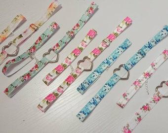 Ella Gift Set - Garter, Choker and Hair Tie // Bridesmaid Gift and Hen Do Party Favor