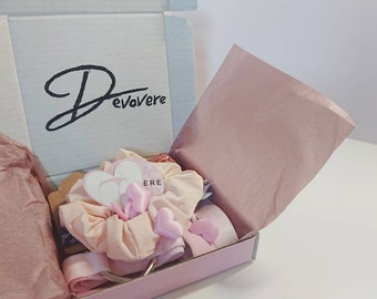 Treat Box // Self Care Gift Box, Choker and Garter Mystery Box, Letterbox Gift for Adults