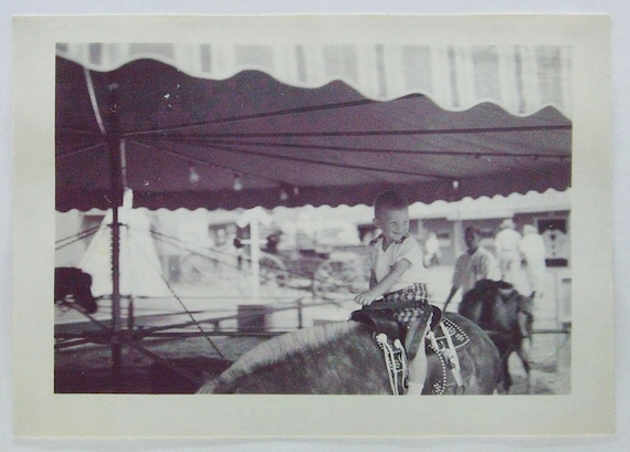 Oregon Centennial Expo 1959 Pony Rides Carnival Vintage Photos   Etsy