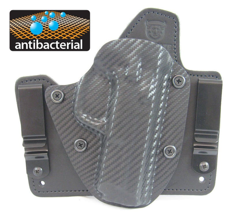 Smith Wesson M&P Shield 9mm /  40 Hybrid Holster -Most Comfortable Holster  Available - Premium Concealed Carry from Ultimate Holsters