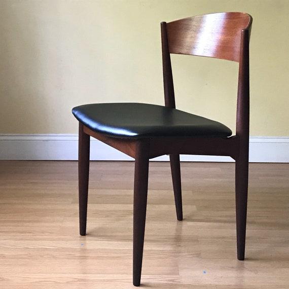 ONE JYDSK Danish Modern teak Dining Chair side chair desk chair bedroom  chair (set of four, set of five)