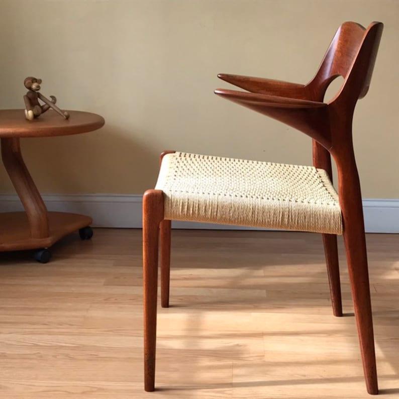 Teak And Danish Paper Cord Desk Chair, Tortola Teak Laminate Flooring
