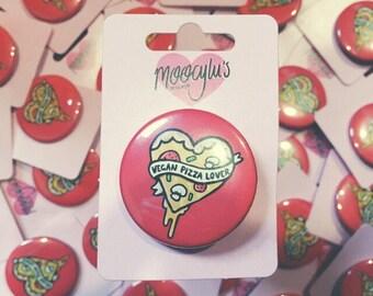 Vegan Pizza Lover Badge