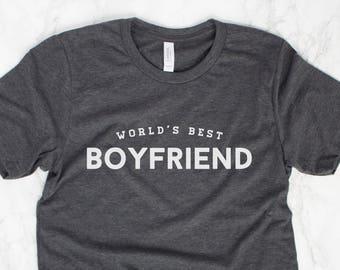 Worlds Best Boyfriend Shirt