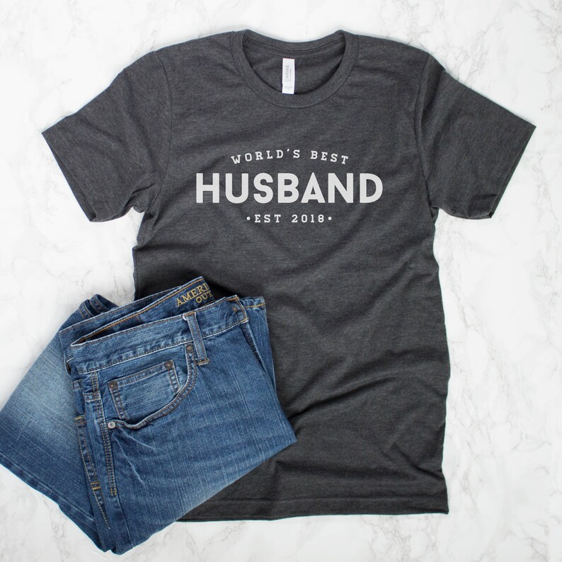 Worlds Best Husband Shirt Gift From Wife