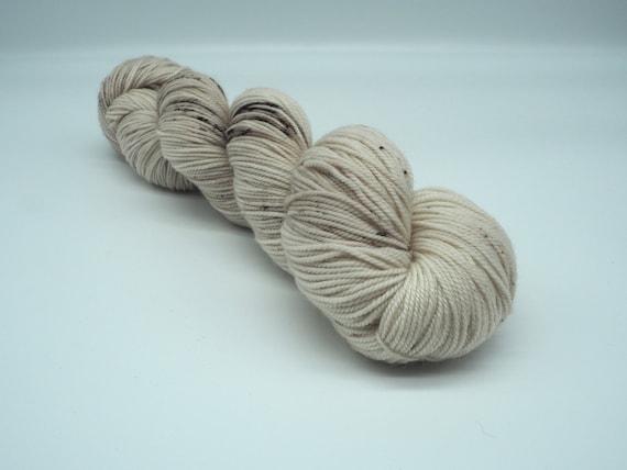 Mushroom - 100% superwash merino sport weight yarn (100g)
