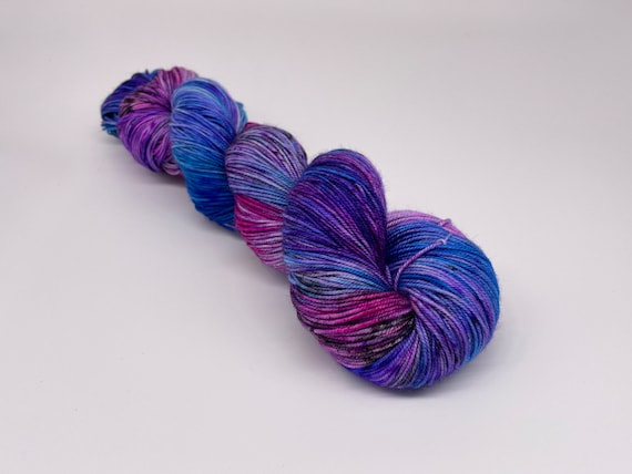 Aurora - hand-dyed, variegated merino cashmere silk yarn - 100g (400m)