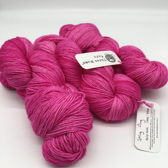 Spring fling - hand-dyed 4ply sock yarn - 100g
