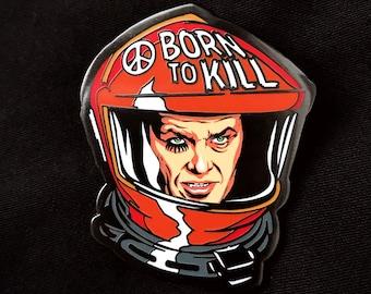 NEW Kubrick inspired - Cinema Mashup - Art of Butcher Billy Hard Enamel Pins