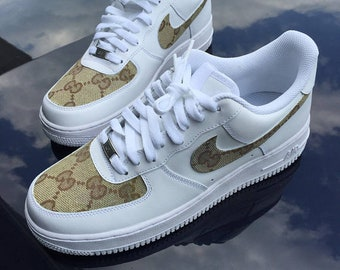 sale retailer 2393d c6458 Custom Classic Gucci Nike Air Force 1