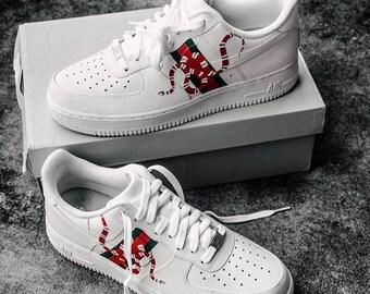 Custom Gucci Snake Nike Air Force 1