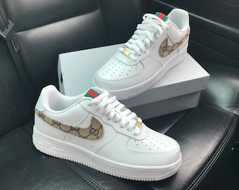 Nike Air Force 1 Gucci Etsy