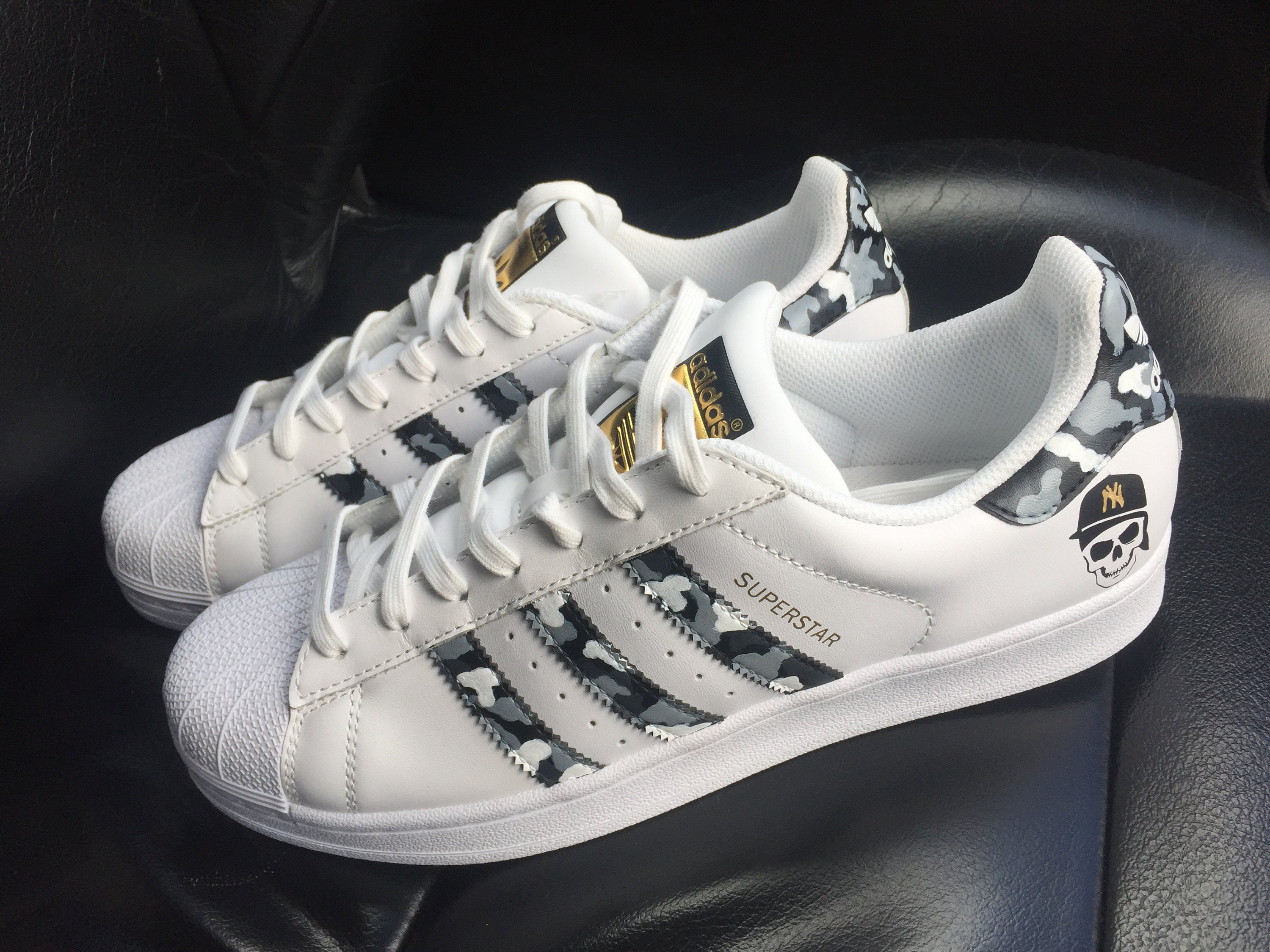Custom Adidas Superstar Sneakers