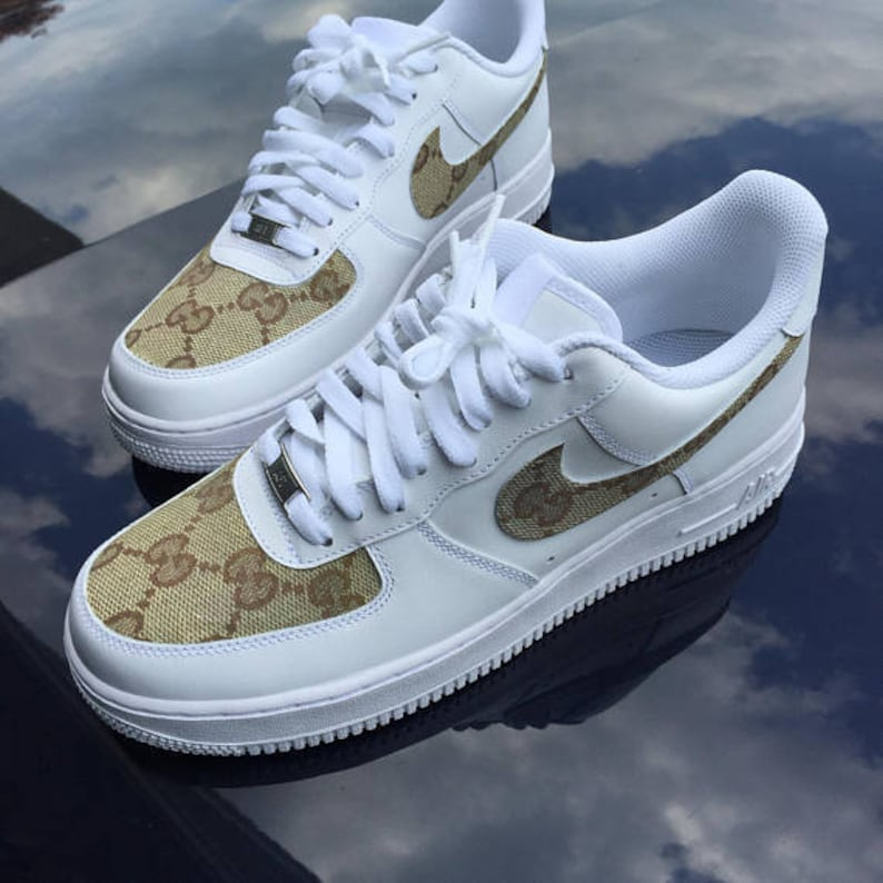 710f37cbd89 Custom Classic Gucci Nike Air Force 1