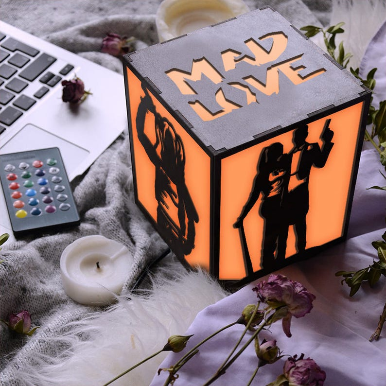 De Quinn Et Joker Harley BoisDécorCadeauPartie Table ArtLampe Bureau En Pk8Xn0wO