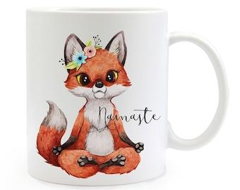 Tasse Becher Kaffeebecher Geschenk Kaffetasse Waschbär Spruch Moin Mama Ts655 Tassen Ernährung
