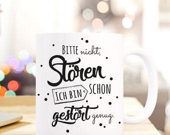 Gift Coffee Mug Cup m. Saying funny ts515