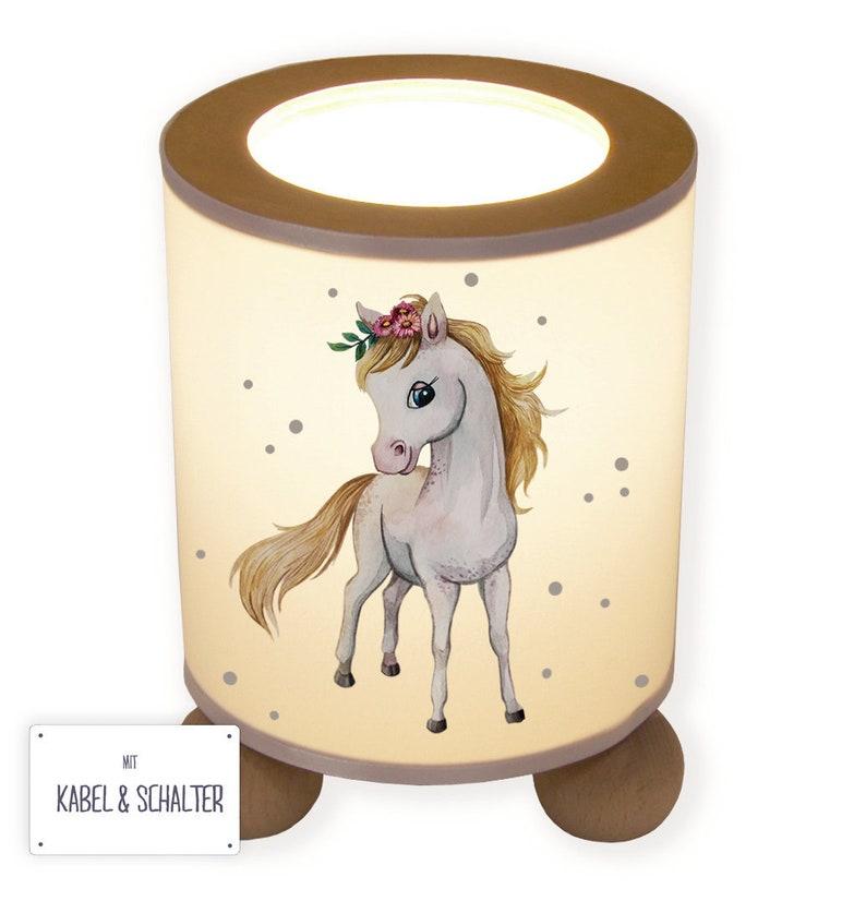 Table lamp bedside lamp children/'s lamp snooze light horse horse tl079
