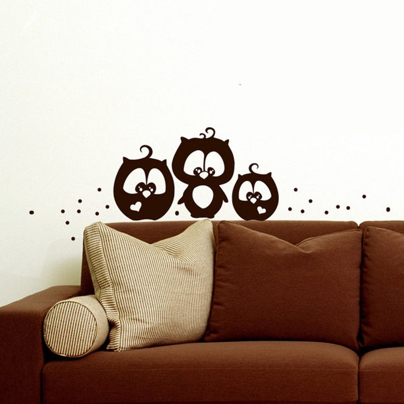 Wall Sticker Scene Setter Owl M825