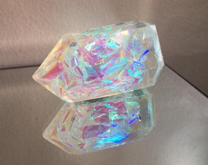 Angel Aura Glitter Crystal Tower