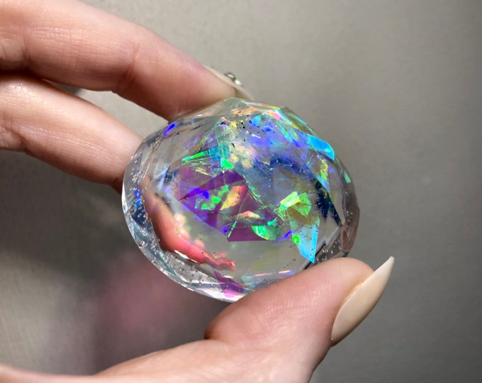 Angel Aura Glitter Diamond Crystal