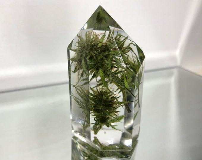 Weed Flower Crystal Tower 1