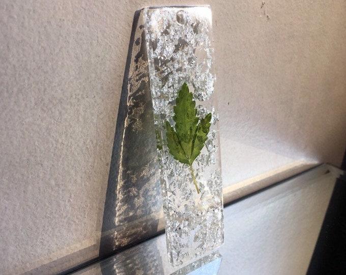 Weed Leaf & Silver Leaf Bookmark