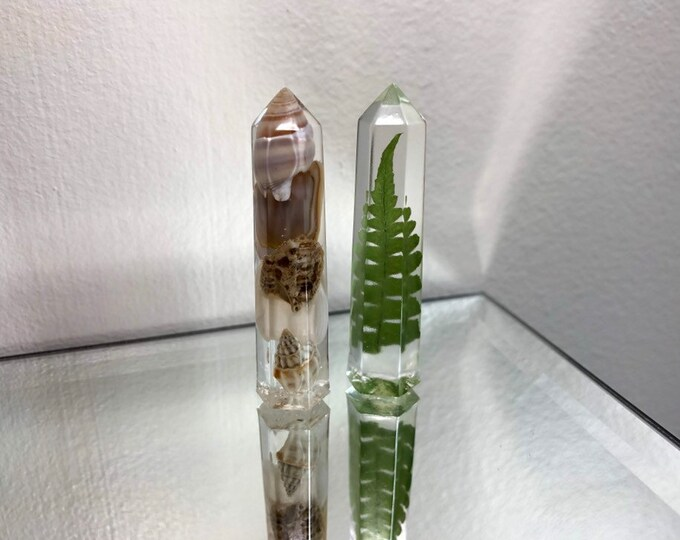 Lakeside Crystal Tower Set of Two Crystals
