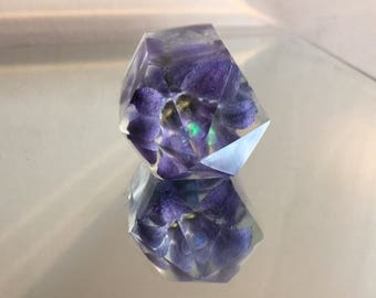Opal Triple Purple Hyacinth Crystal