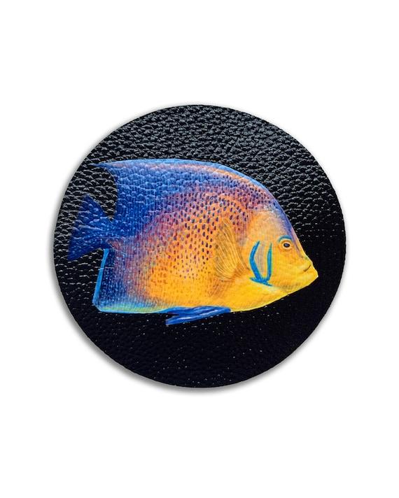 Deep Sea Coasting - Set of 4 Exotic Fish Coasters