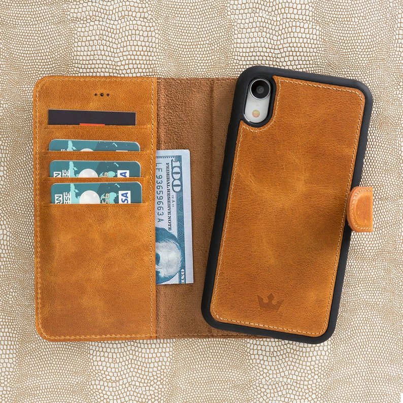various colors 266a6 528ff Magnetic Detachable RFID Wallet Case For iPhone Xr, Best iPhone Xr Leather  Case, iPhone Xr Phone Case, Xr Phone Case, iPhone Xr Apple Case