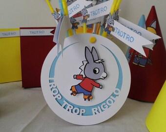 """""""Donkey trotro"""" birthday Kit"""