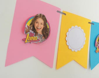 """Decorative banner themed """"soy luna"""""""