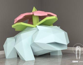 papercraft diy pikachu pokemon papercraft paper model art etsy